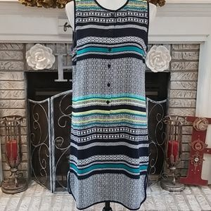 Cynthia Rowley button up shirt dress, size 6